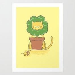 To Be King! Art Print