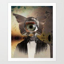 Mr. Insomnia Art Print