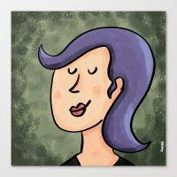 New Hairdo Canvas Print