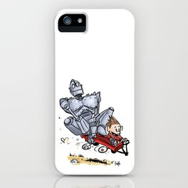 Iron Giant & Hogarth iPhone Case