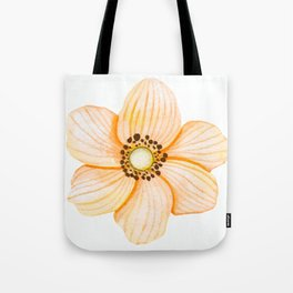 One Orange Flower Tote Bag