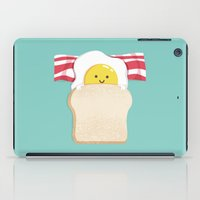 breakfast iPad Cases featuring Morning Breakfast by Picomodi