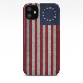 Betsy Ross Flag iPhone Case