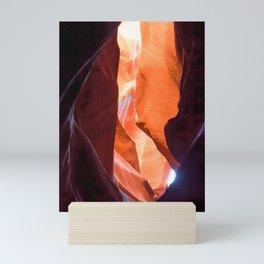 Slot Canyon abstract Mini Art Print