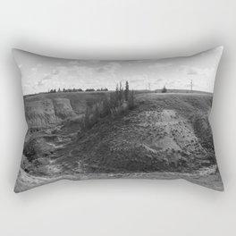 Horseshoe Canyon 1 Drumheller Badlands Rectangular Pillow
