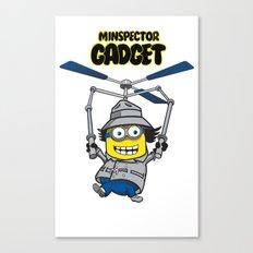 Minspector Gadget Canvas Print
