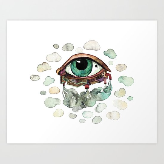 Tiny Window Art Print