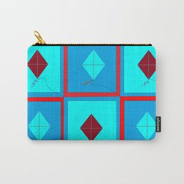 Grandma's Kites Quilt, My Version Carry-All Pouch