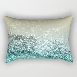 Lemon Twist Beach Glitter #2 #shiny #decor #art #society6 Rectangular Pillow
