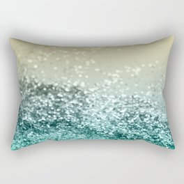 Lemon Twist Beach Glitter #2 #shiny #decor #art #society6 Rectangular Pillow