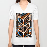 arrows V-neck T-shirts featuring Arrows by Design Gregory