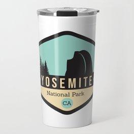 Yosemite National Parks Badge Travel Mug
