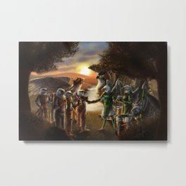 A New Alliance Metal Print