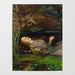 Ophelia, John Everett Millais Poster