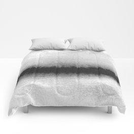 Black and White Horizon Comforters