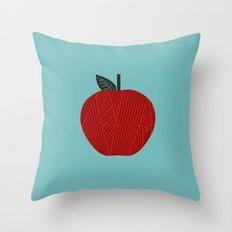 Apple 10 Throw Pillow