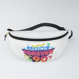 90'S RETRO PARTY OLDSCHOOL OUTFIT GIFTS Fanny Pack