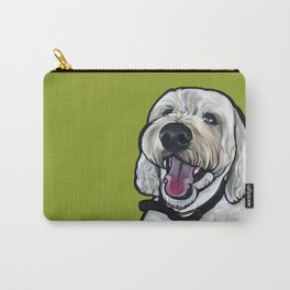 Kermit the labradoodle Carry-All Pouch