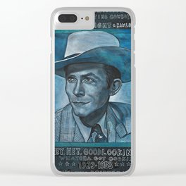 Singing the Blues Clear iPhone Case