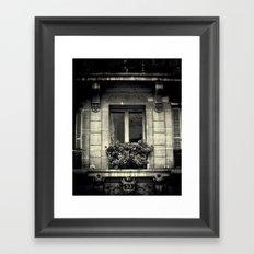 French Window  Framed Art Print