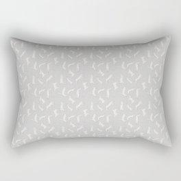 techno cat 3 Rectangular Pillow