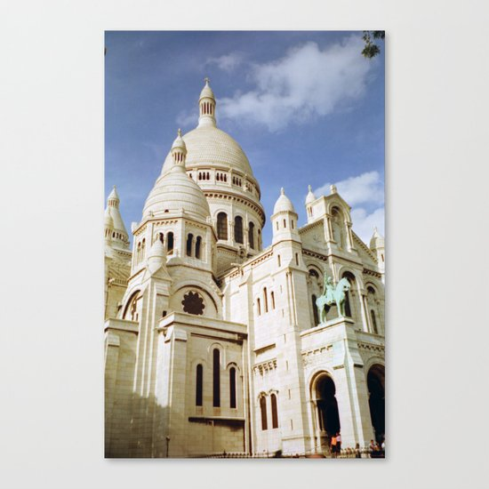 Sacre Coeur, Paris  Canvas Print