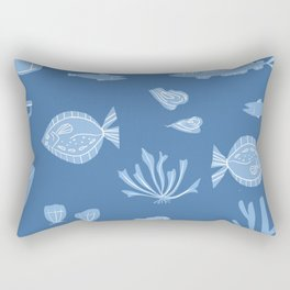 Ocean Pattern Rectangular Pillow