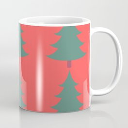 Winter/Christmas - Trees And Christmas Lights Coffee Mug