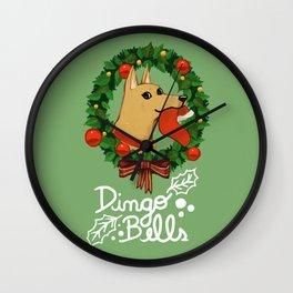 Dingo Bells Wall Clock