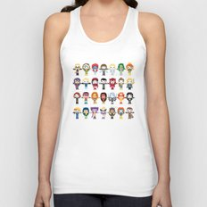 WOMEN WITH 'M' POWER Unisex Tank Top
