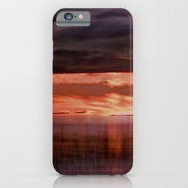 A storm (Digital Art) iPhone Case