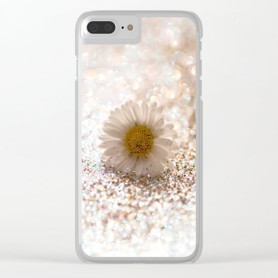 DAISY GOLD - for Mackenzie Clear iPhone Case