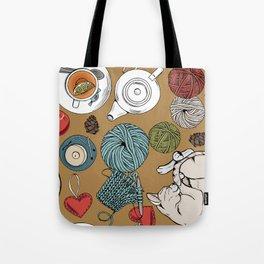 home cosiness Tote Bag