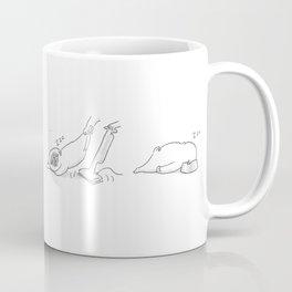 Sleepy Puggy Coffee Mug