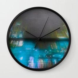 Graffiti Street Scene Recolor Wall Clock