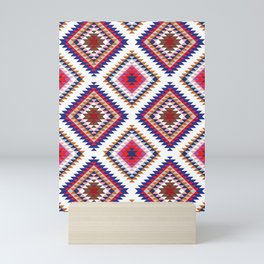 Aztec Rug Mini Art Print