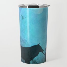 Wolf Whisperer Travel Mug