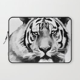 Tiger Black and white Laptop Sleeve