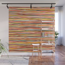 Colored Lines #1 Wall Mural