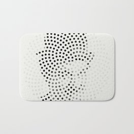 Optical Illusions - Iconical People 1 Bath Mat