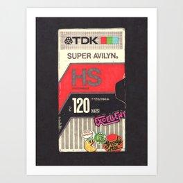 TDK Art Print