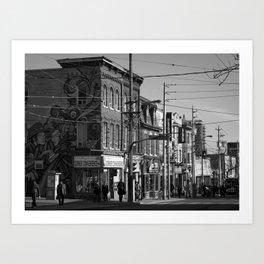 Cabbagetown, Toronto Art Print