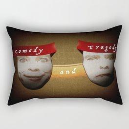 Comedy/Tragedy Rectangular Pillow