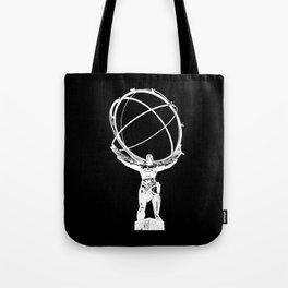 Atlas // Black Tote Bag