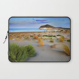 """Genoveses Beach"" Sunset at beach Laptop Sleeve"