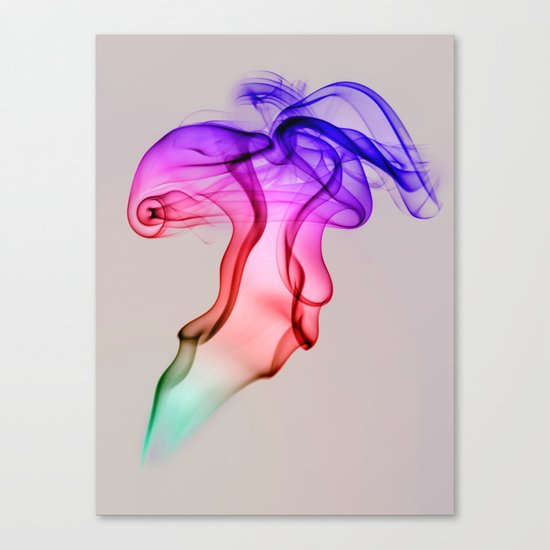 Smoke Compositions III Canvas Print