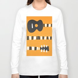 Retro Guitar Long Sleeve T-shirt