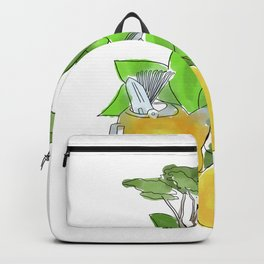 Nairobi, Citrus, Garden Tools Backpack