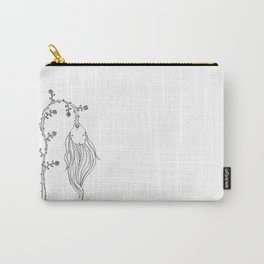 Lethargic Flower Carry-All Pouch