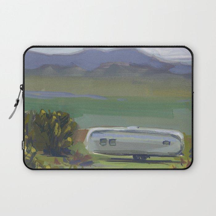 AIRSTREAM, Montana Travel Sketch by Frank-Joseph Laptop Sleeve